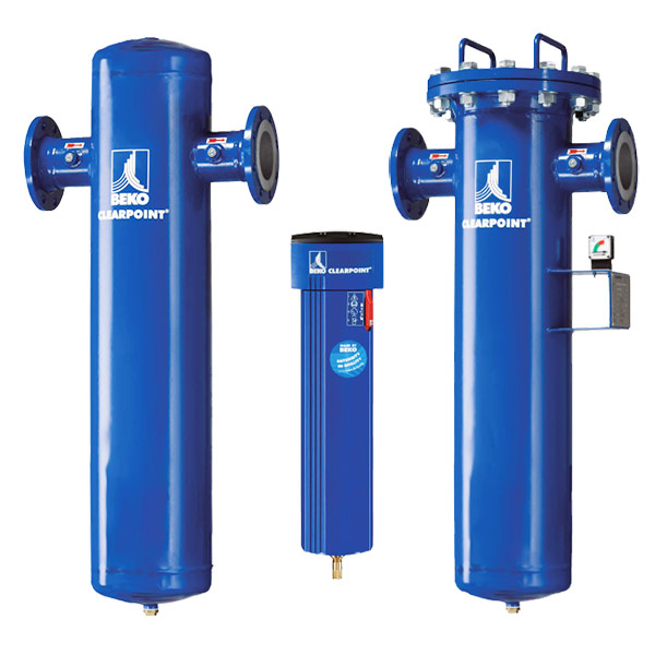 Clearpoint Compressed Air Filters Beko Technologies Mdi