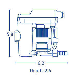 BEKOMAT 12 CO PN 63 Dimensions
